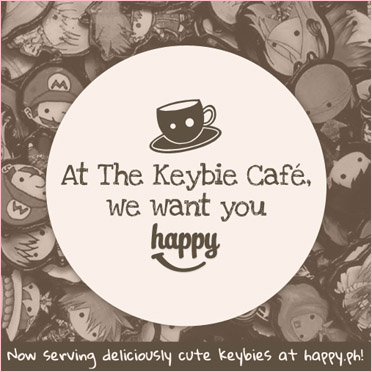 We want you HAPPY at Keybie Cafe!