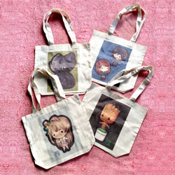Keybie Canvas Tote Bags