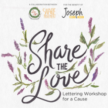 Share the Love: Letter Workshop for a Cause