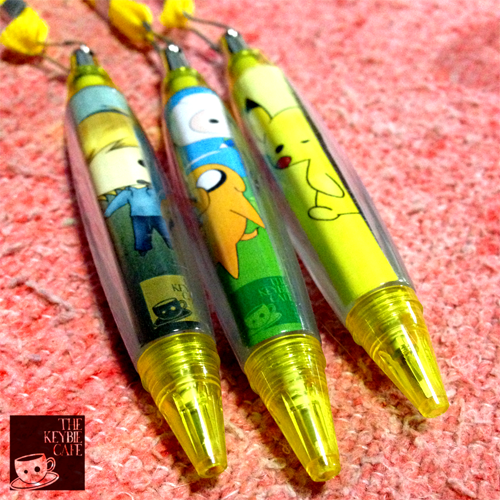 Writing Dotty: Introducing All New Keybie Pens!