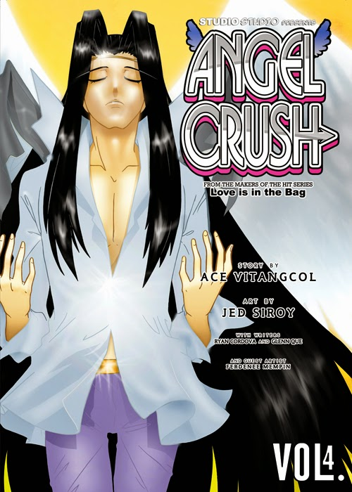 Angel Crush 4, available at Komikon 2014