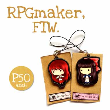 RPGmaker Ib and Aya Drevis keybies