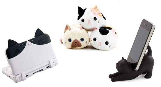 Kawaii and Quirky Kitty Items To Celebrate Cat Day!