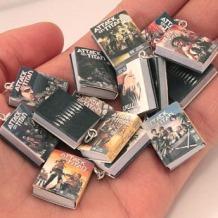 Little Literature - tiny Attack on Titan books! #irony