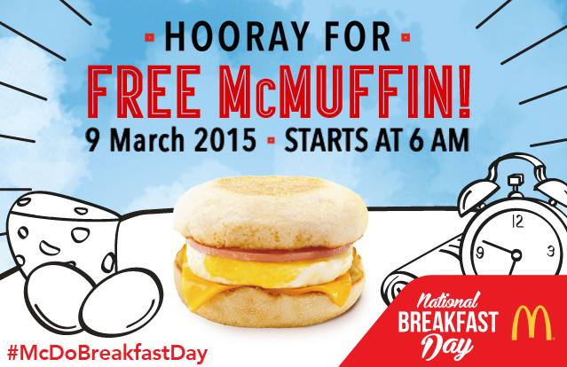 Mcdonalds Breakfast Day Philippines