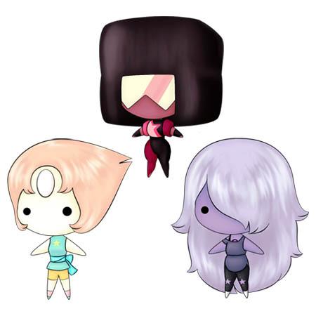 #WNW: Steven Universe, Mermaid Melody Pichi Pichi Pitch and Natsume Yuujinchou Keybies!